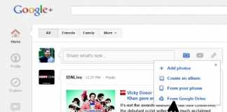 Share Google Drive photos on Google+