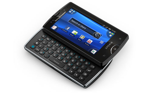 Sony Ericsson Xperia Mini Pro - Android 2.3 phone below 15000 Best Android v2.3 Phones in India