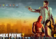 Official Max Payne 3 Wallpapers for PC, Cellphone and Also to Use as Timeline Covers