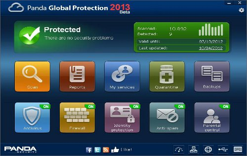 Panda Global Protection 2013 for Windows