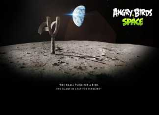 Angry Birds Space iPhone, iPad and PC wallpaper pack