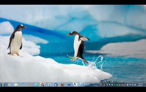 Antarctic theme