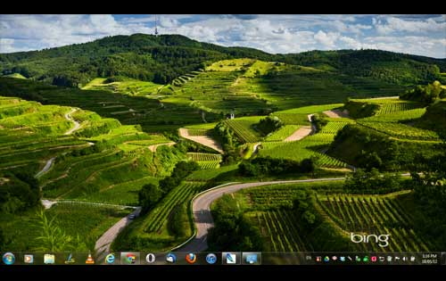 Best of Bing theme for Windows
