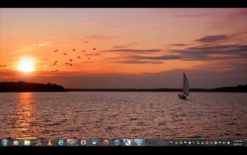 Sailing Theme Windows 7