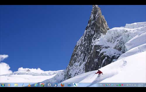 Cool Snow Sports Theme for Windows