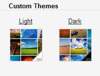 Two Custom Theme Options on Gmail