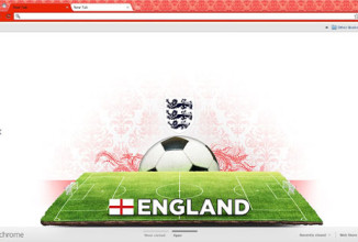 New Awesome Soccer Themes for Google Chrome