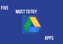 Five Must Have Apps for Google Drive