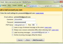 Combine Hotmail, Yahoo Mail or Any Other Email with Gmail Using Gmail Mail Fetcher
