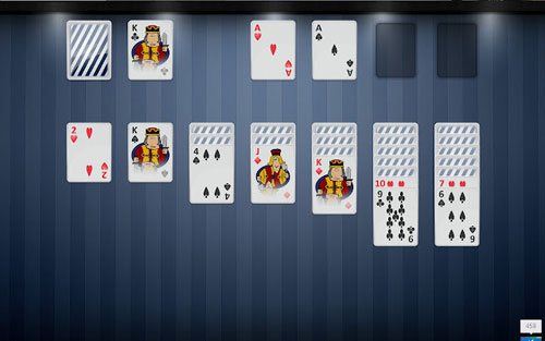 play Solitaire offline on Google Chrome