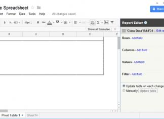 Summarize Data in Google Doc Spreadsheet - Step 1