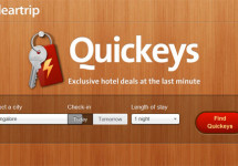 Quickeys – Find Hotels in Major Indian Cities Available for Immediate Check-in Online