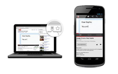 get webpages you opened on your pc on your mobile