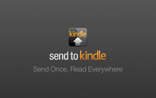 Send Web Pages to Your Kindle