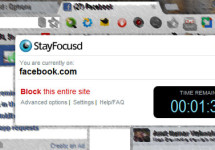 StayFocusd – Self Impose a Time Restriction on Your Browsing