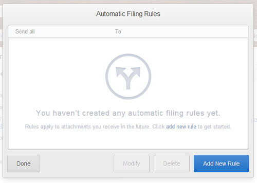 how set up autofiling rules in Gmail