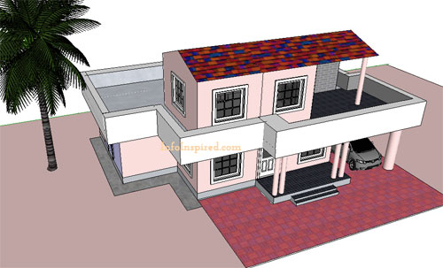 make your dream home model using Google SketchUp8 free software