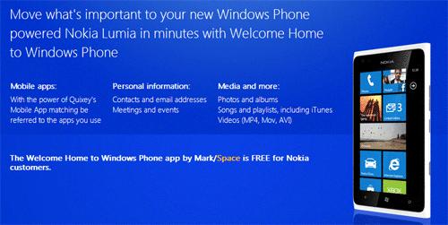 Welcome Home Lumia