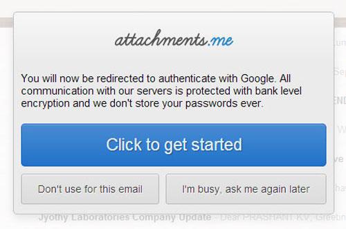 connect attachments me plugin in Gmail