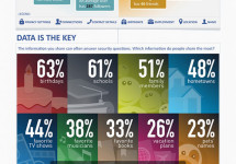 The Risk of Sharing Private Information on Social Networks [Infographic]