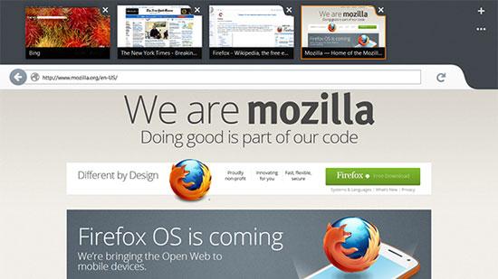 Metro Firefox Arrived
