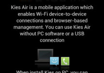 How to Use Kies Air to Send Media Files from PC to Your Android Phone