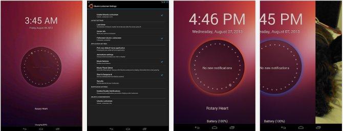 Ubuntu style Lockscreen