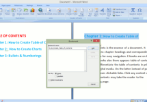 How to Create a Clickable Custom Table of Contents in Microsoft Word or PDF