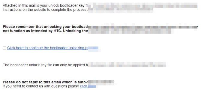 unlock token HTC One V