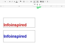 How to Vertically Align Text in a Cell or Group of Cells in Google Doc Spreadsheet
