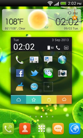 GO Launcher EX Toucher Pro Widget