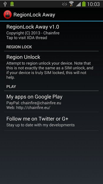Note 3 region lock problem