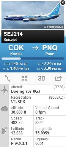 track flight details