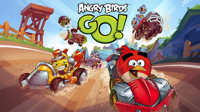 angry birds go racing game