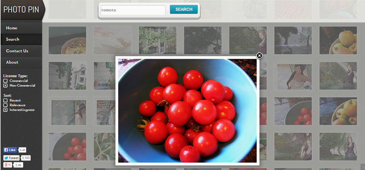 Photopin to get Flickr photos