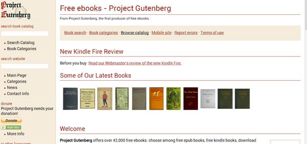 project guttenberg
