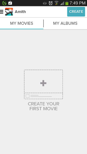 Create your first movie