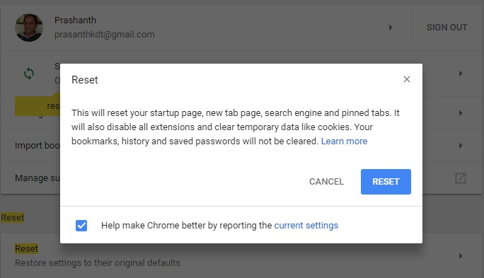 Disable All the Apps and Extension on Chrome at One Go