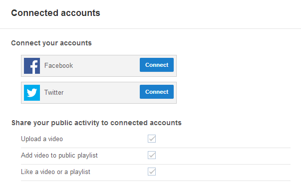 connect Facebook to YouTube