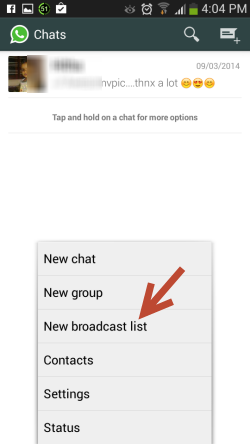 Share Messages to Multiple Recipients