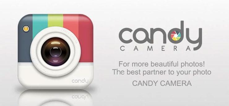 Candy-Camera selfie app