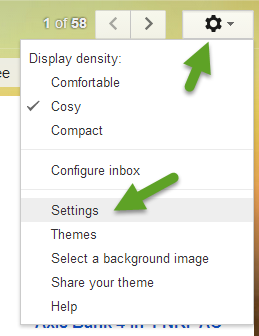 Gmail Settings - Undo Send