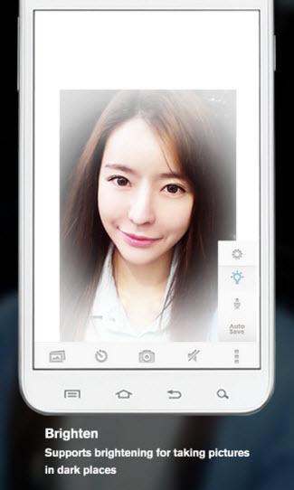 Silent Selfies camera app