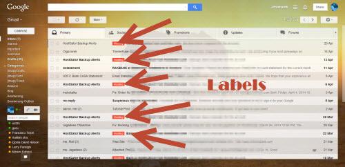 Auto label Gmail