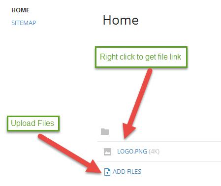 get file links on sites.google.com
