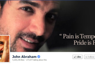 Verified Pages of Bollywood Celebrities on Facebook
