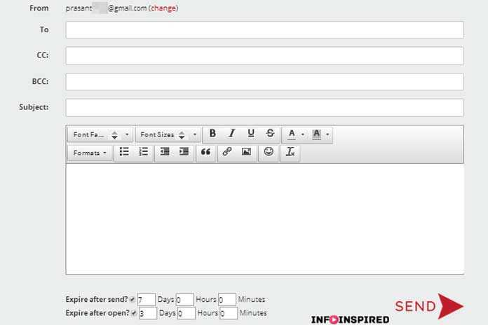 how to send mail in gmail