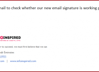 Create and Add an HTML Email Signature