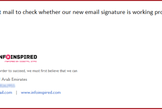 Windows Live Mail – How to Create and Add an HTML Email Signature