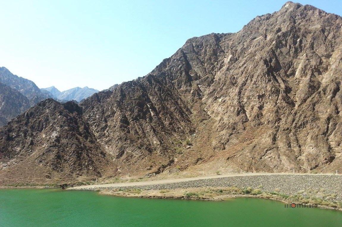 The Scenic Hatta Dam in Dubai